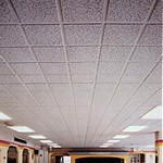 onsite spray painting of ceilings - acoustic - metal - plaster - concrete - fibreglass etc