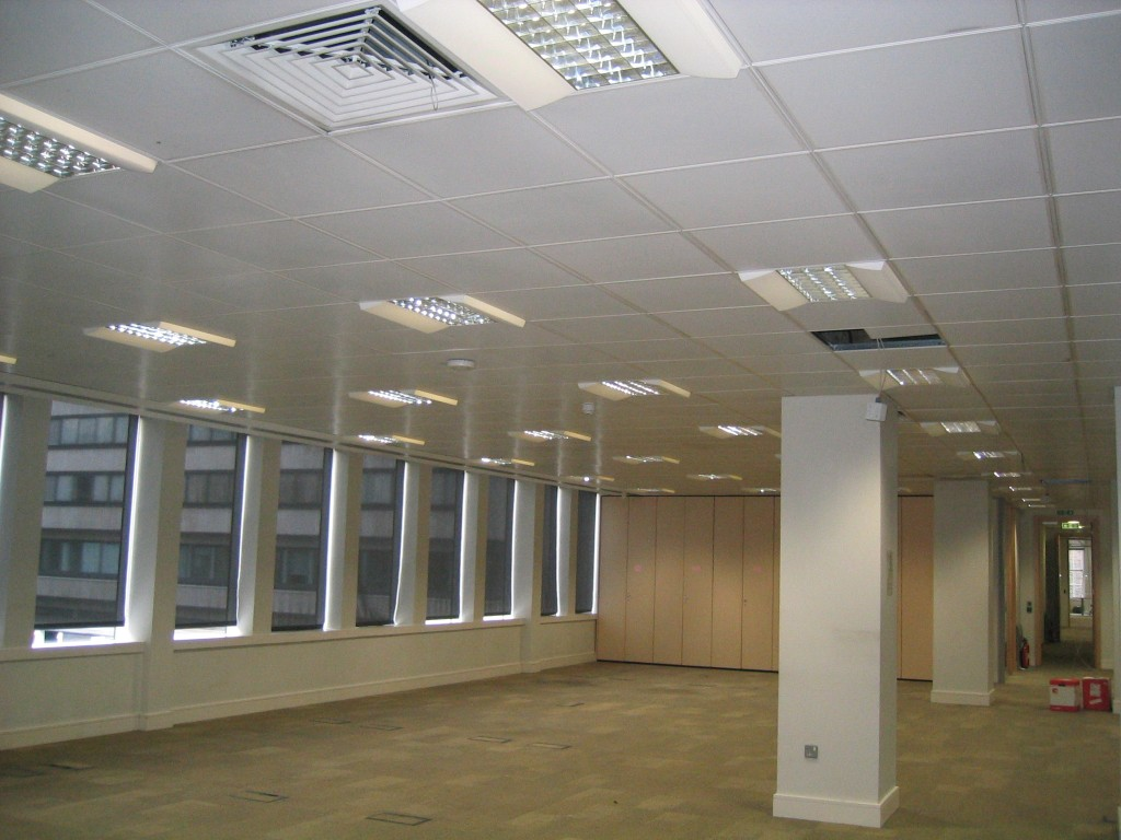 Ceilcote_Premier League London ceiling spray