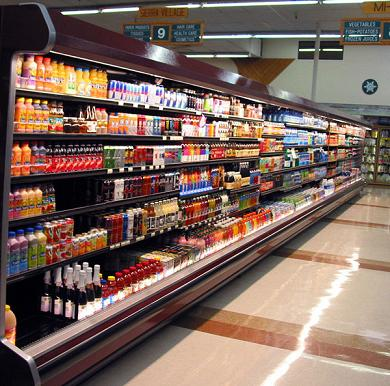 Refrigeration And Chiller Spray Painting For Supermarkets