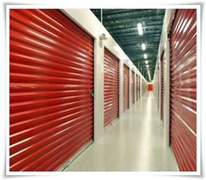 self storage units spray painted by Ceilcote.com