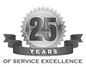 25 years spray painting service