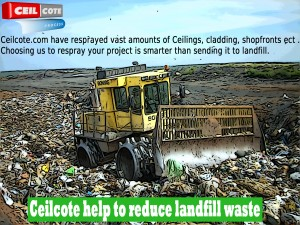 ceilcote - reduce landfill by respraying