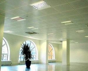 spray paint ceilings