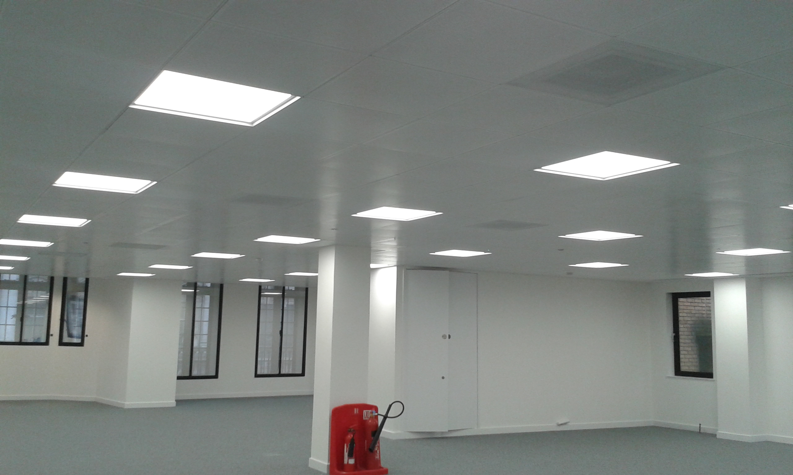 Concrete Ceiling Painting