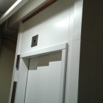 lift door spray painted by CEILCOTE