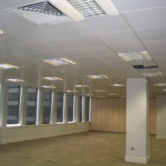 Acoustic Ceiling Spraying by CeilCote – 01733 588251 / 0207 519 6362