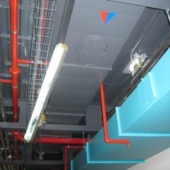 Ceiling Void Spraying at Google Headquarters