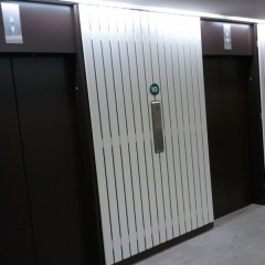 Lift Door Spraying by CeilCote – 01733 588251 / 0207 519 6362