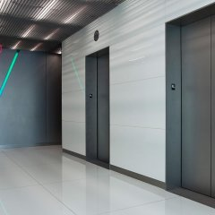 Lift Door Spraying by CeilCote – 01733 588251 / 0207 519 6362
